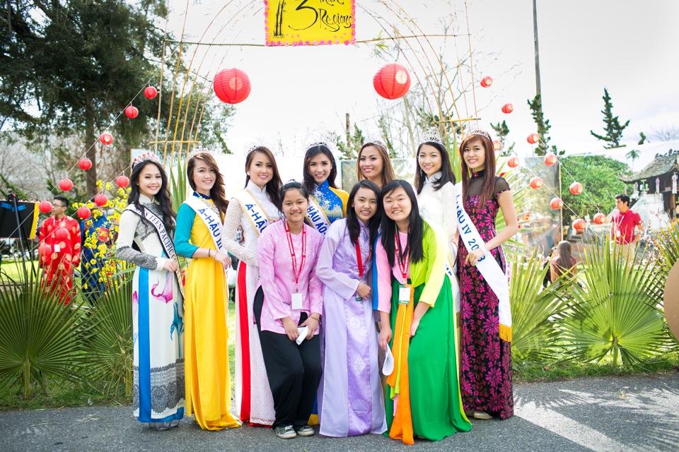 Tết Festival at Kelley Park, San Jose CA - Hoa Hậu Áo Dài Bắc Cali 2015 - Image 157