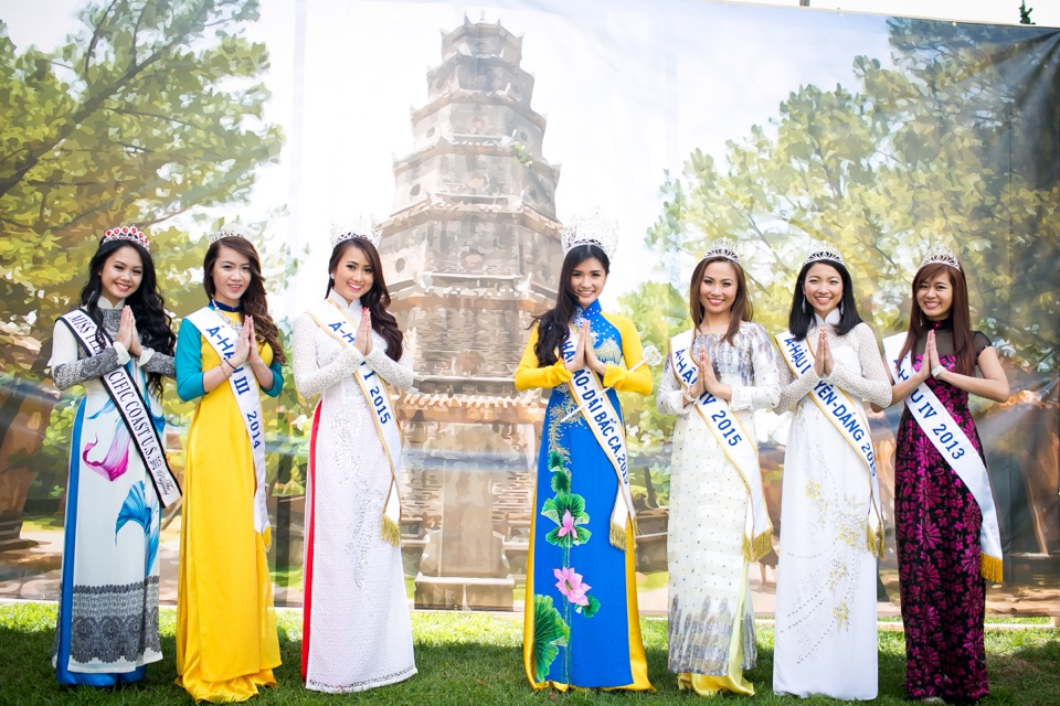 Tết Festival at Kelley Park, San Jose CA - Hoa Hậu Áo Dài Bắc Cali 2015 - Image 164