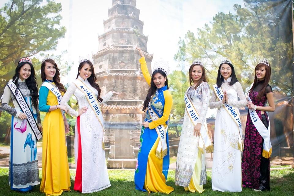 Tết Festival at Kelley Park, San Jose CA - Hoa Hậu Áo Dài Bắc Cali 2015 - Image 165