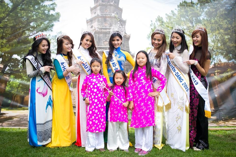 Tết Festival at Kelley Park, San Jose CA - Hoa Hậu Áo Dài Bắc Cali 2015 - Image 168
