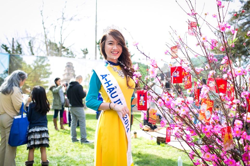 Tết Festival at Kelley Park, San Jose CA - Hoa Hậu Áo Dài Bắc Cali 2015 - Image 169