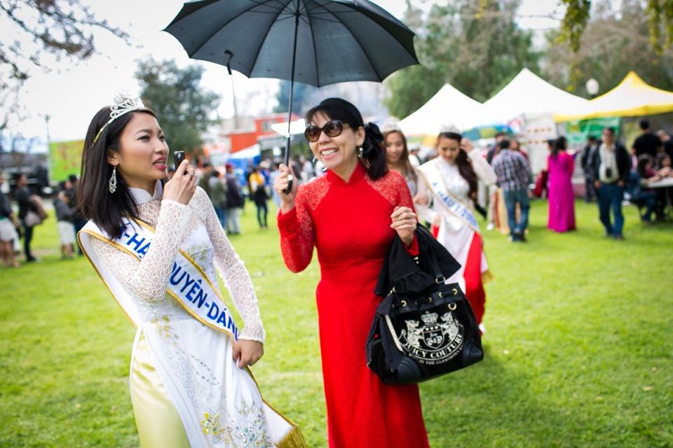Tết Festival at Kelley Park, San Jose CA - Hoa Hậu Áo Dài Bắc Cali 2015 - Image 170