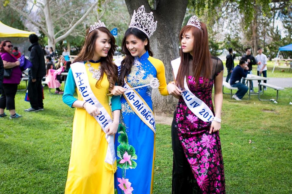 Tết Festival at Kelley Park, San Jose CA - Hoa Hậu Áo Dài Bắc Cali 2015 - Image 172
