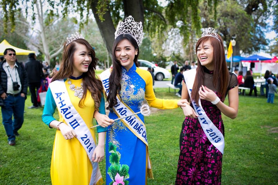 Tết Festival at Kelley Park, San Jose CA - Hoa Hậu Áo Dài Bắc Cali 2015 - Image 173