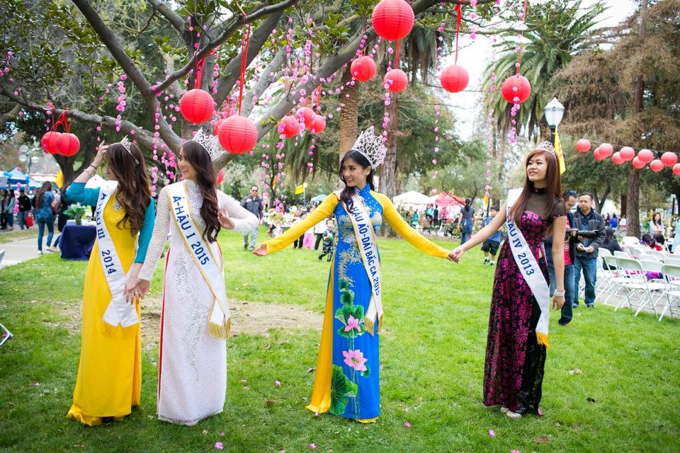 Tết Festival at Kelley Park, San Jose CA - Hoa Hậu Áo Dài Bắc Cali 2015 - Image 177