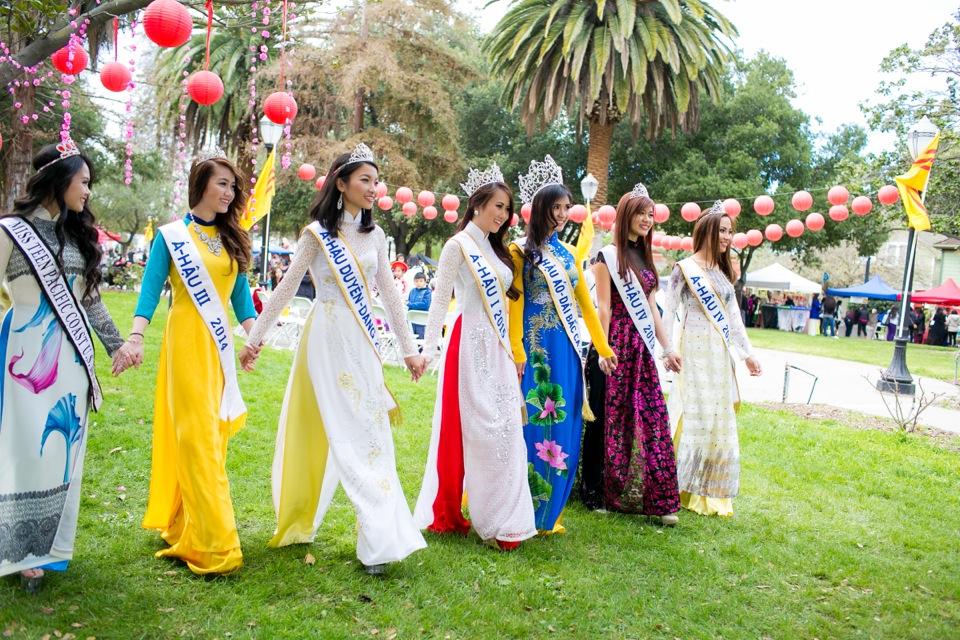 Tết Festival at Kelley Park, San Jose CA - Hoa Hậu Áo Dài Bắc Cali 2015 - Image 179