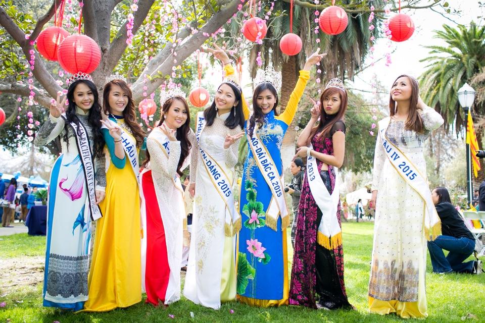 Tết Festival at Kelley Park, San Jose CA - Hoa Hậu Áo Dài Bắc Cali 2015 - Image 180