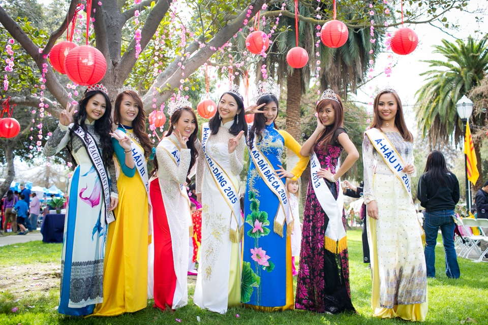 Tết Festival at Kelley Park, San Jose CA - Hoa Hậu Áo Dài Bắc Cali 2015 - Image 181
