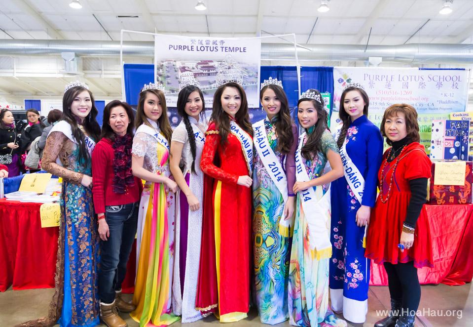 Tet Fairgrounds 2014 - Hoa Hậu Áo Dài Bắc Cali - Miss Vietnam of Northern California - Image 103