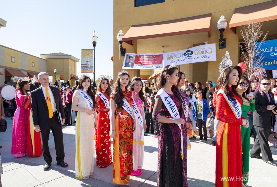 Tet Festival 2014 at Vietnam Town - Hoa Hau - Miss Vietnam - Image 111