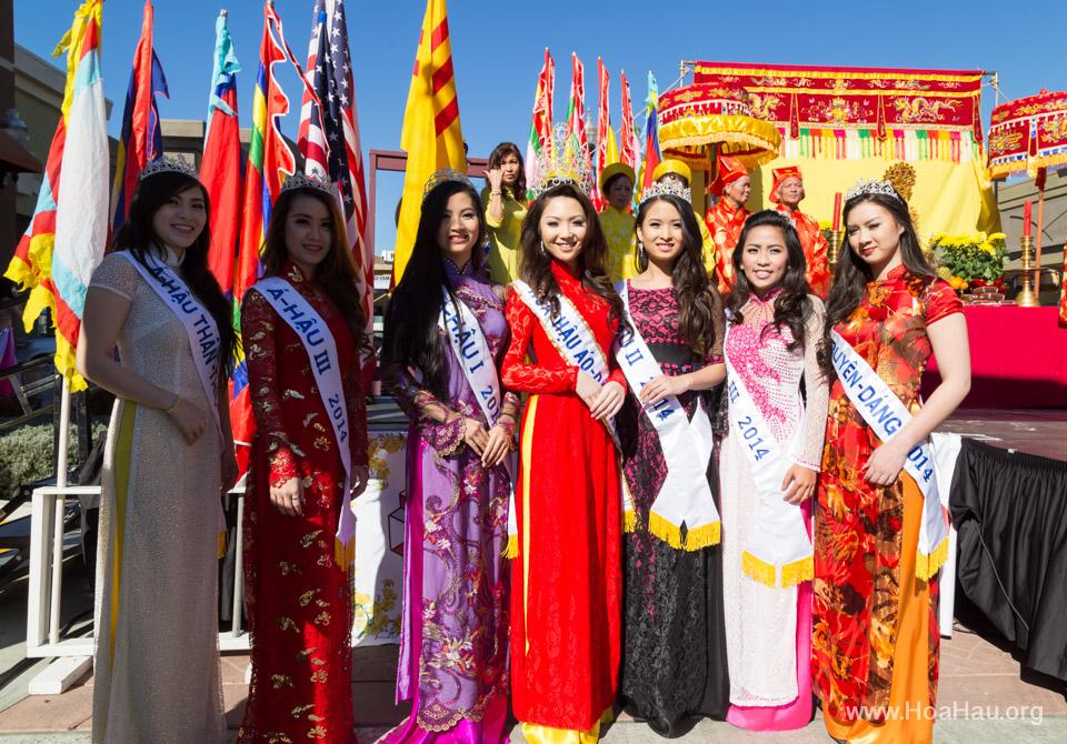 Tet Festival 2014 at Vietnam Town - Hoa Hau - Miss Vietnam - Image 112