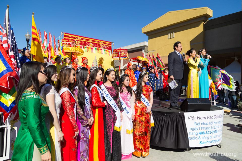 Tet Festival 2014 at Vietnam Town - Hoa Hau - Miss Vietnam - Image 115