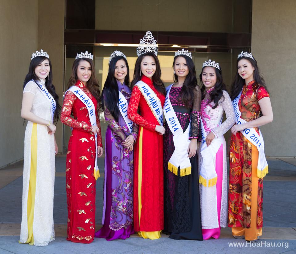 Tet Festival 2014 at Vietnam Town - Hoa Hau - Miss Vietnam - Image 126