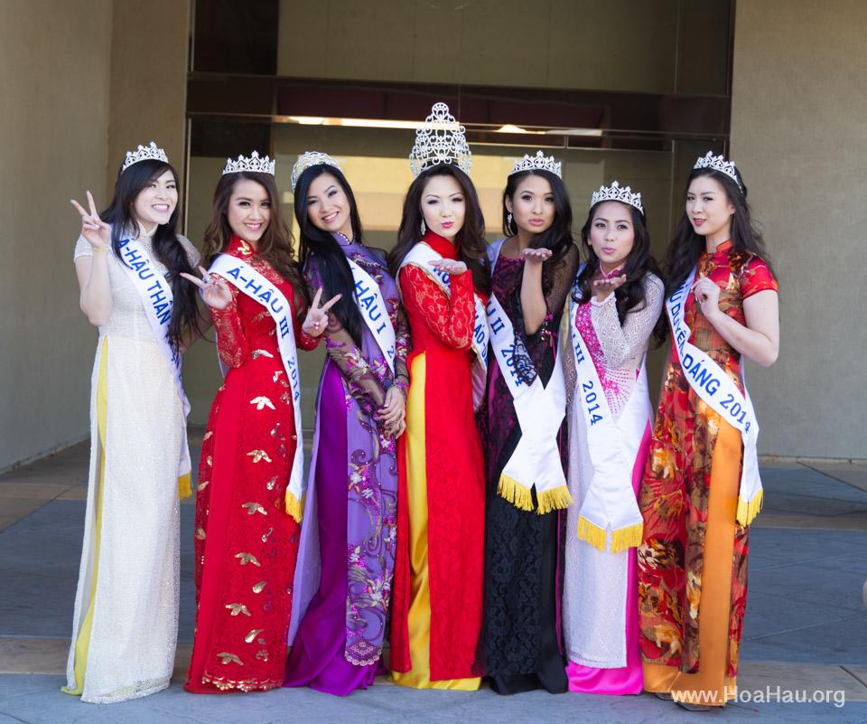 Tet Festival 2014 at Vietnam Town - Hoa Hau - Miss Vietnam - Image 127