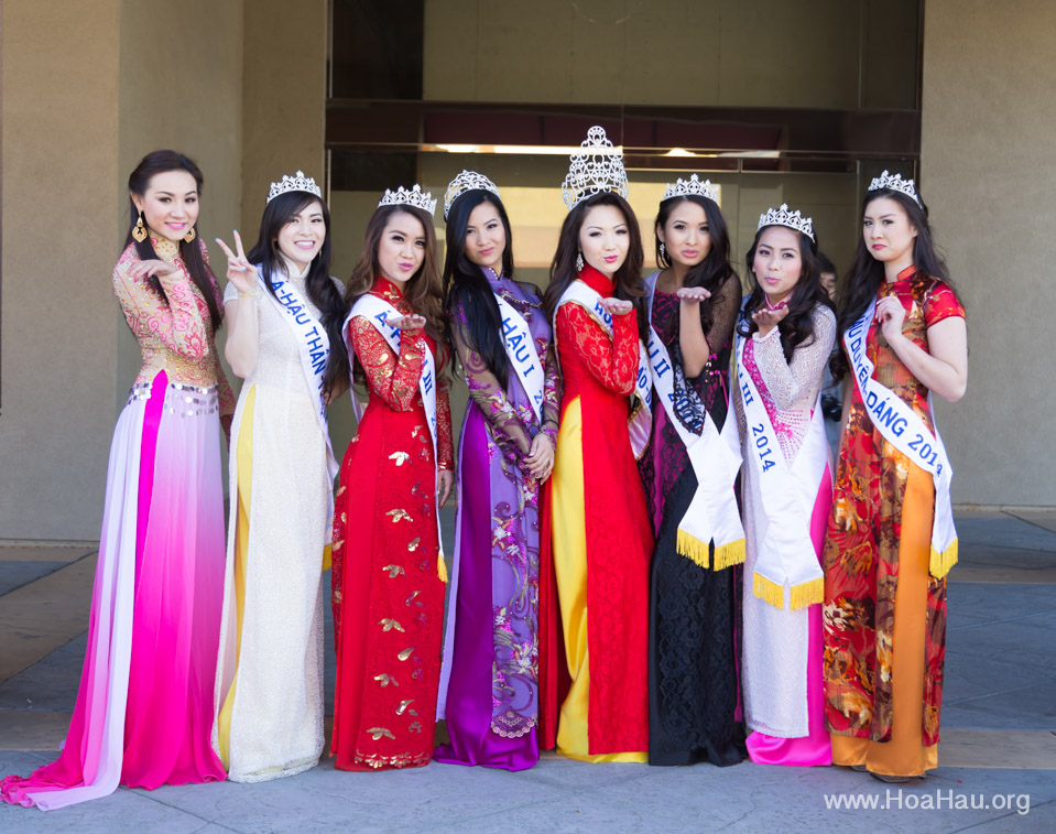 Tet Festival 2014 at Vietnam Town - Hoa Hau - Miss Vietnam - Image 129