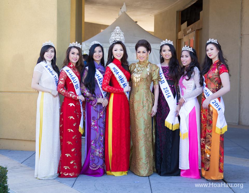 Tet Festival 2014 at Vietnam Town - Hoa Hau - Miss Vietnam - Image 131