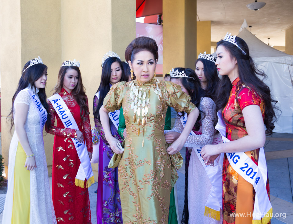 Tet Festival 2014 at Vietnam Town - Hoa Hau - Miss Vietnam - Image 134