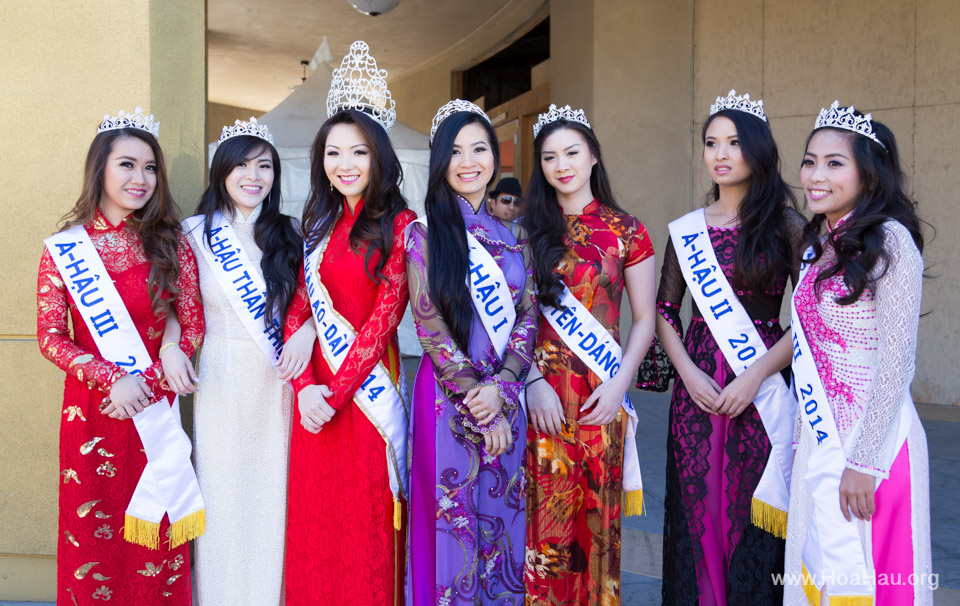 Tet Festival 2014 at Vietnam Town - Hoa Hau - Miss Vietnam - Image 135