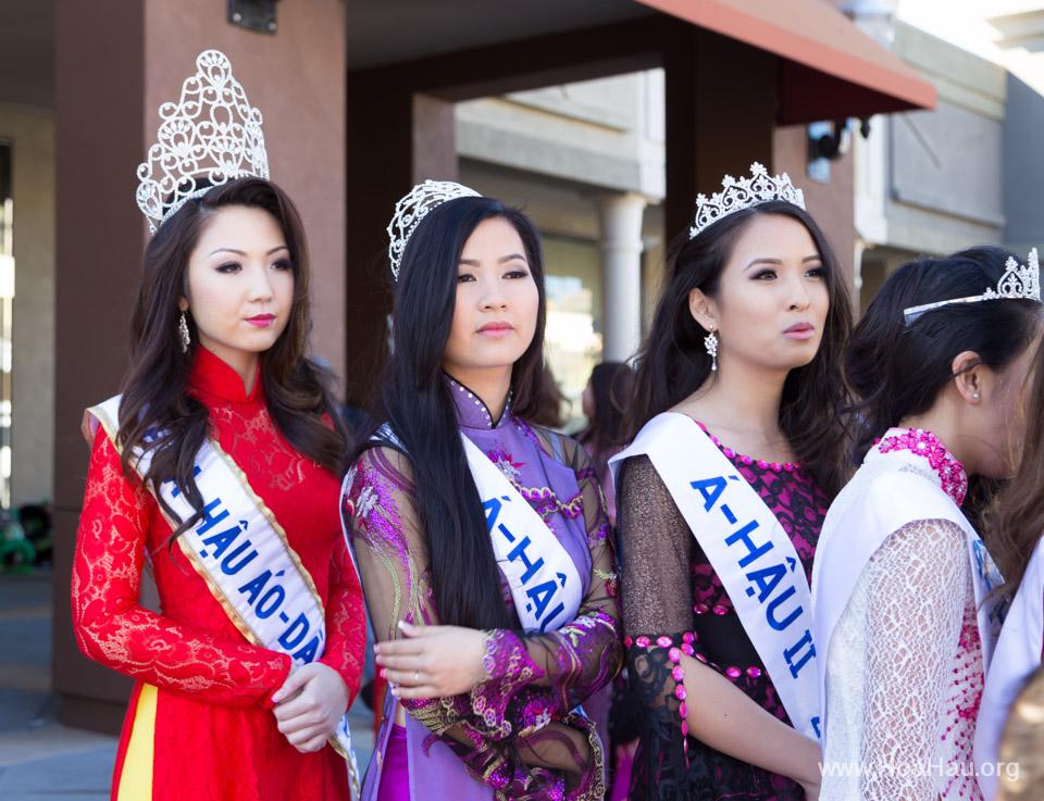 Tet Festival 2014 at Vietnam Town - Hoa Hau - Miss Vietnam - Image 141