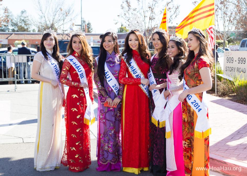 Tet Festival 2014 at Vietnam Town - Hoa Hau - Miss Vietnam - Image 149