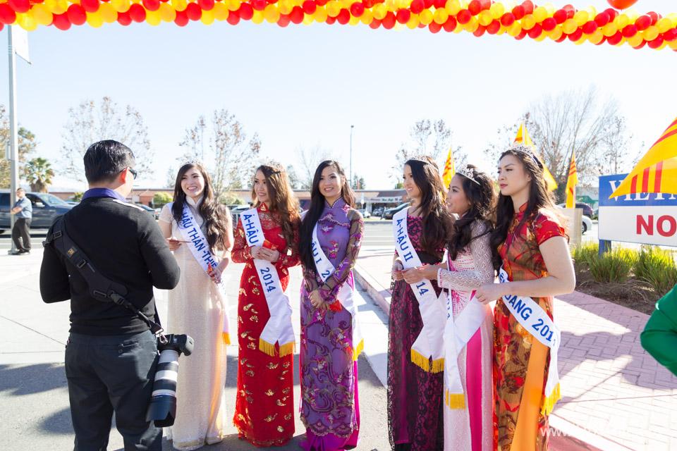 Tet Festival 2014 at Vietnam Town - Hoa Hau - Miss Vietnam - Image 150