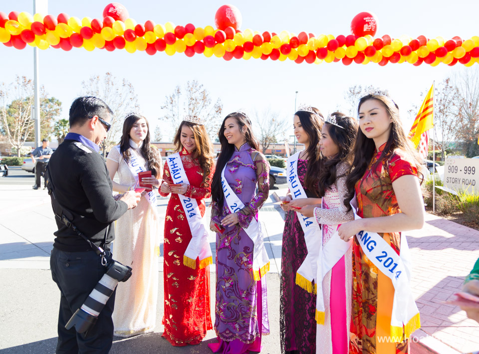 Tet Festival 2014 at Vietnam Town - Hoa Hau - Miss Vietnam - Image 151