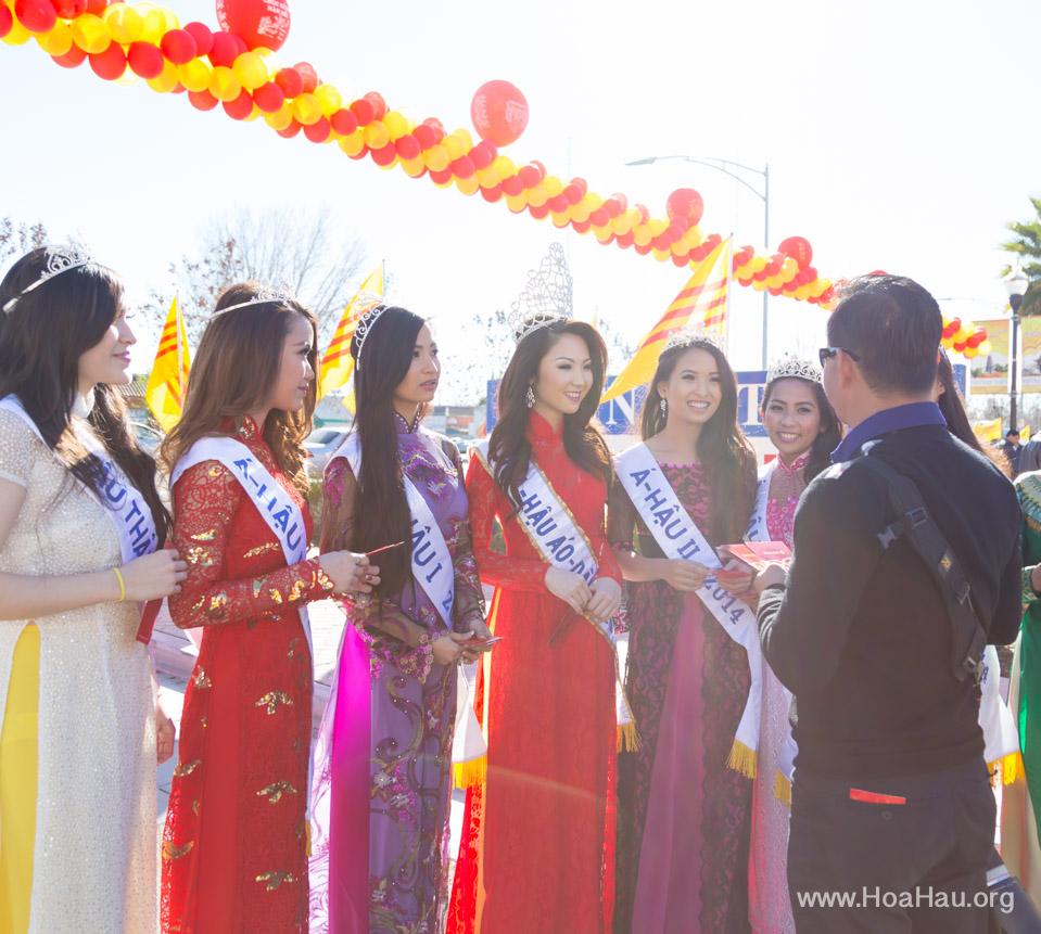 Tet Festival 2014 at Vietnam Town - Hoa Hau - Miss Vietnam - Image 156