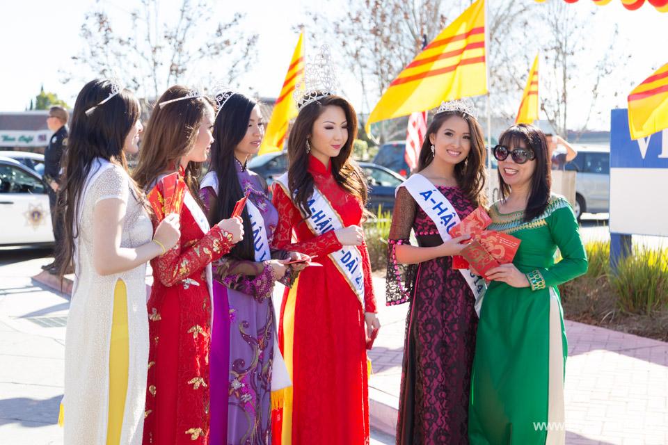 Tet Festival 2014 at Vietnam Town - Hoa Hau - Miss Vietnam - Image 158
