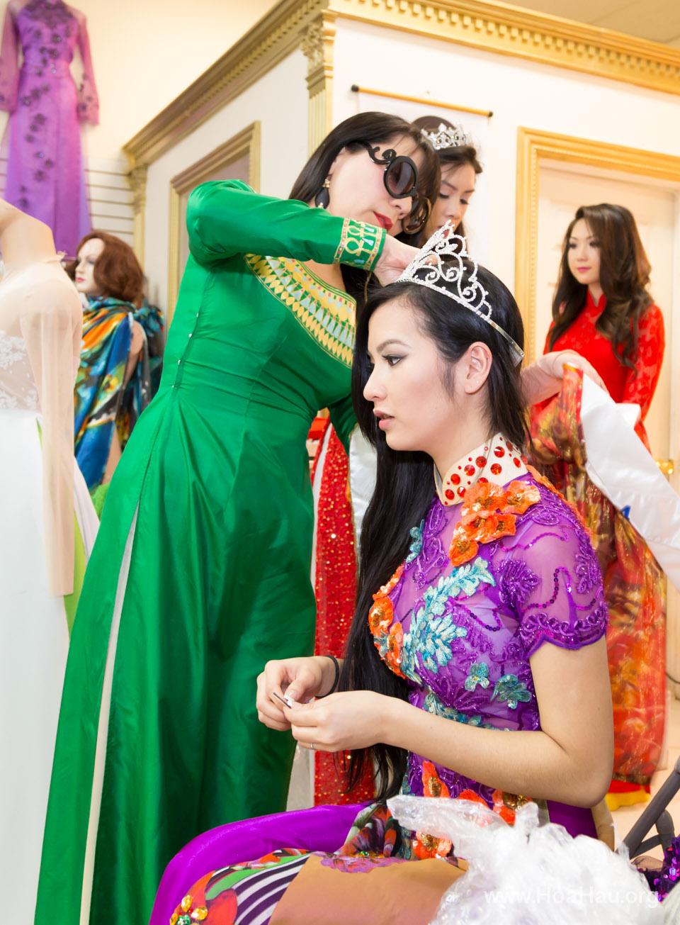 Tet Festival 2014 at Vietnam Town - Hoa Hau - Miss Vietnam - Image 164
