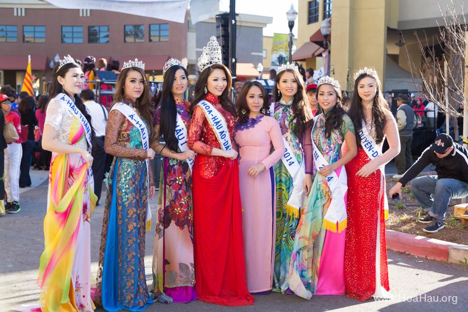 Tet Festival 2014 at Vietnam Town - Hoa Hau - Miss Vietnam - Image 173
