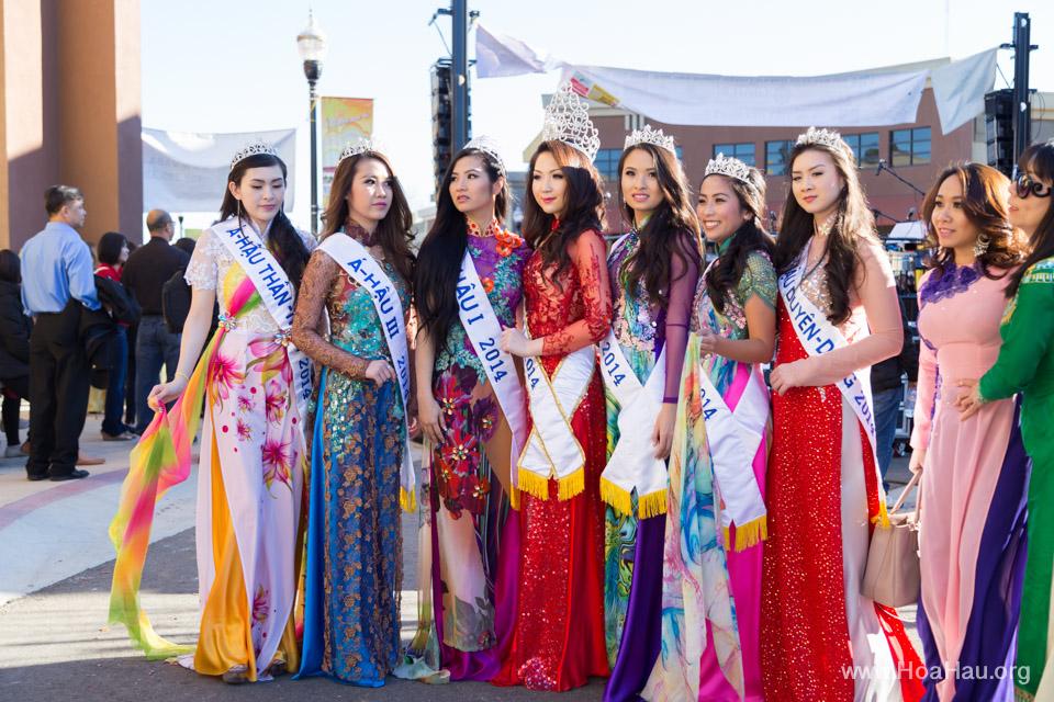Tet Festival 2014 at Vietnam Town - Hoa Hau - Miss Vietnam - Image 174