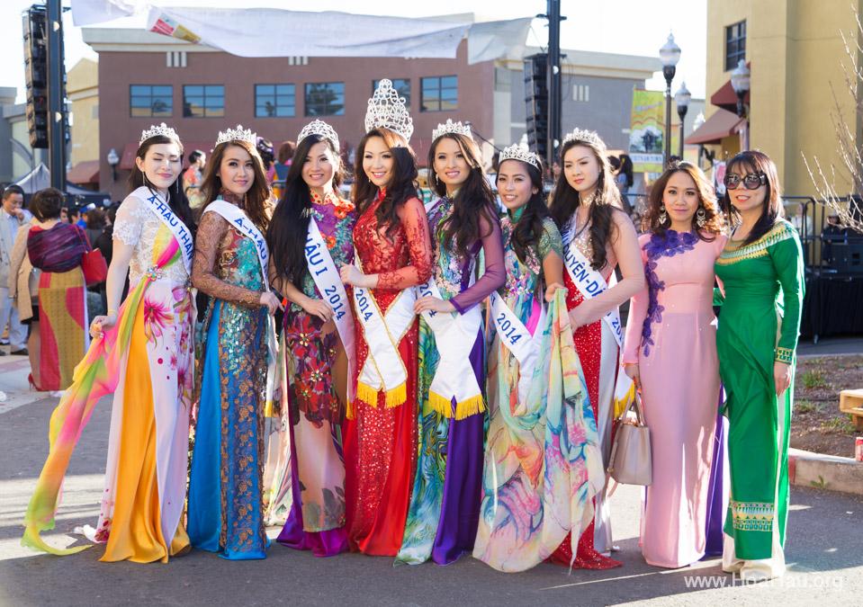 Tet Festival 2014 at Vietnam Town - Hoa Hau - Miss Vietnam - Image 175