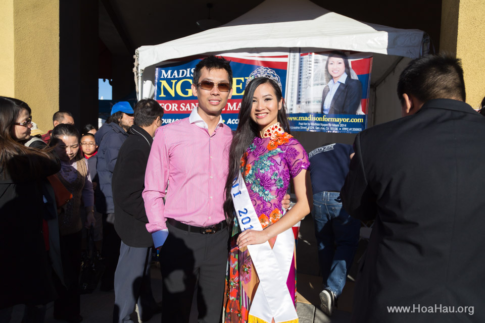 Tet Festival 2014 at Vietnam Town - Hoa Hau - Miss Vietnam - Image 177