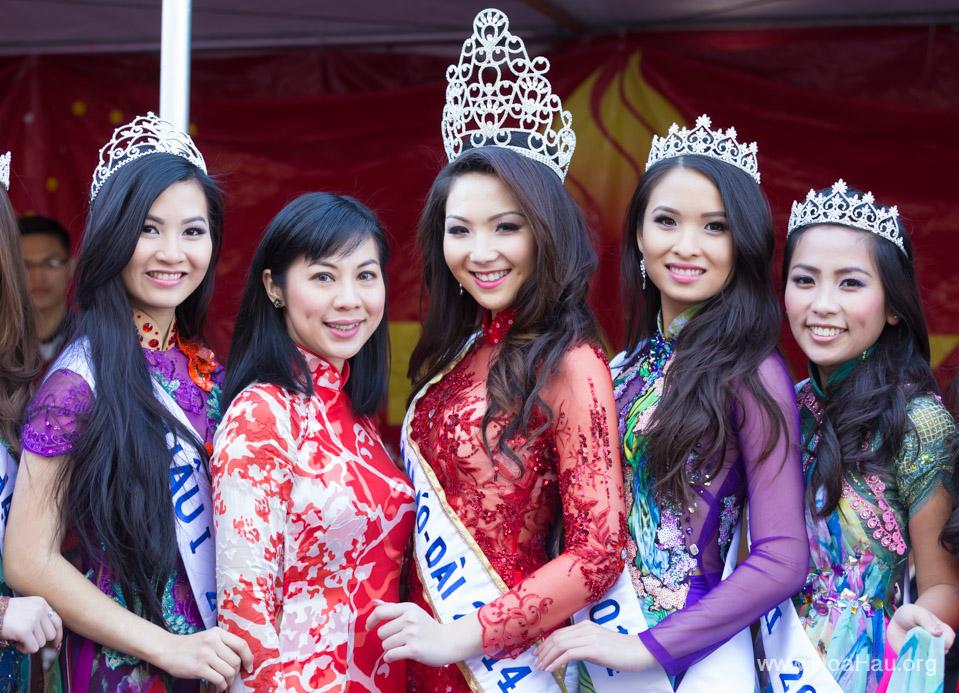 Tet Festival 2014 at Vietnam Town - Hoa Hau - Miss Vietnam - Image 180