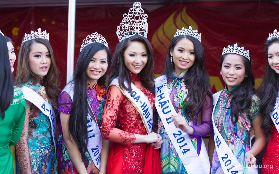 Tet Festival 2014 at Vietnam Town - Hoa Hau - Miss Vietnam - Image 181