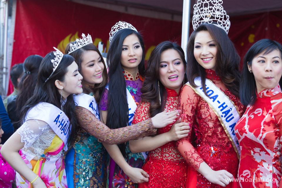 Tet Festival 2014 at Vietnam Town - Hoa Hau - Miss Vietnam - Image 183