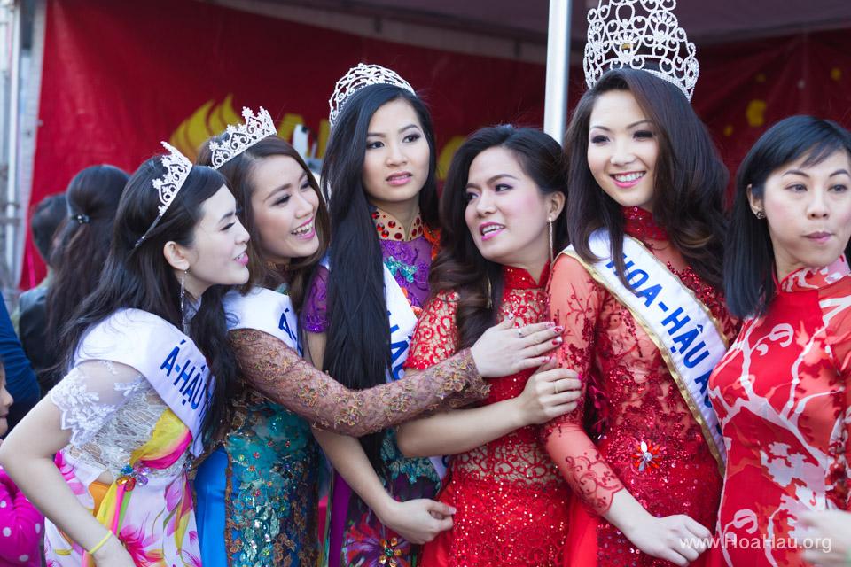 Tet Festival 2014 at Vietnam Town - Hoa Hau - Miss Vietnam - Image 184