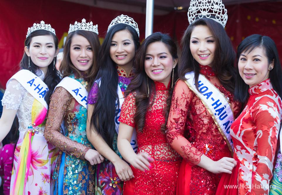 Tet Festival 2014 at Vietnam Town - Hoa Hau - Miss Vietnam - Image 185