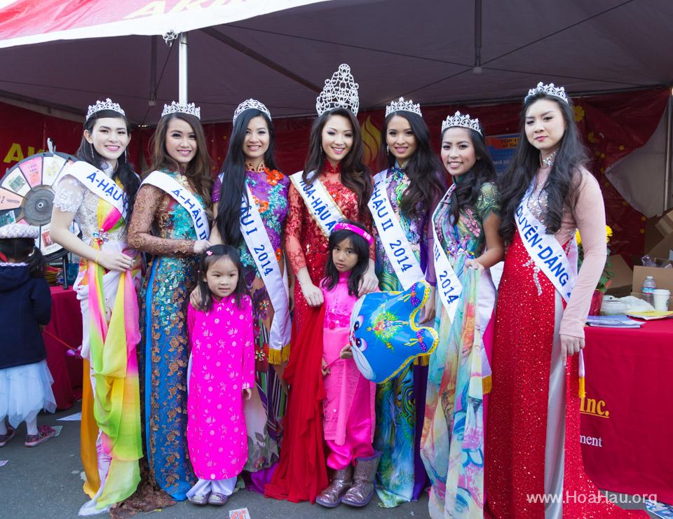 Tet Festival 2014 at Vietnam Town - Hoa Hau - Miss Vietnam - Image 187