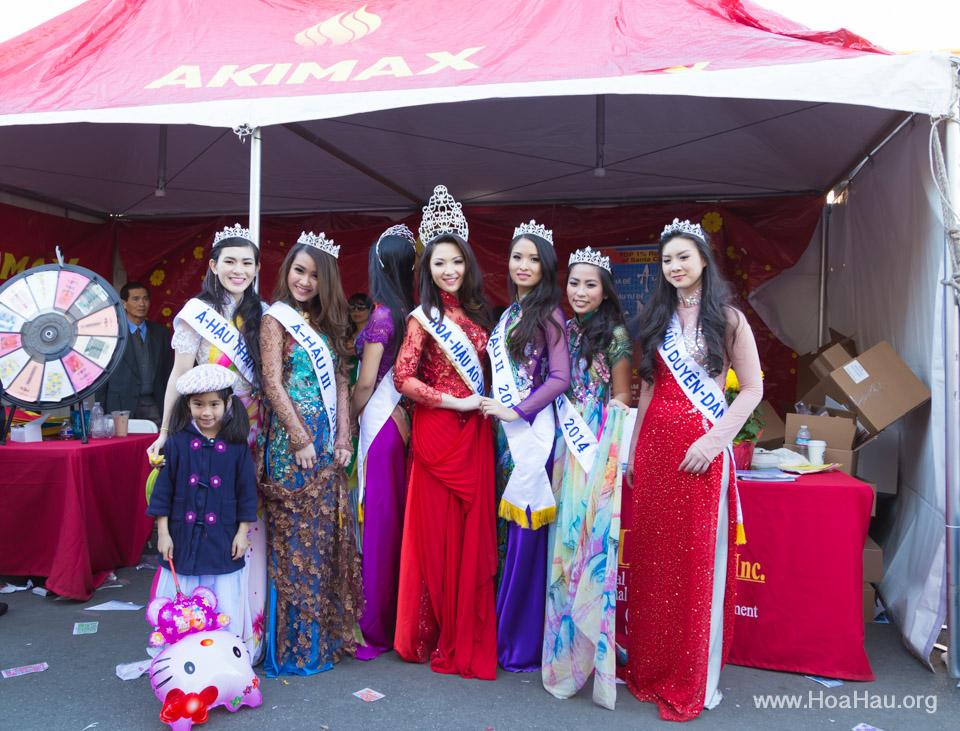 Tet Festival 2014 at Vietnam Town - Hoa Hau - Miss Vietnam - Image 188