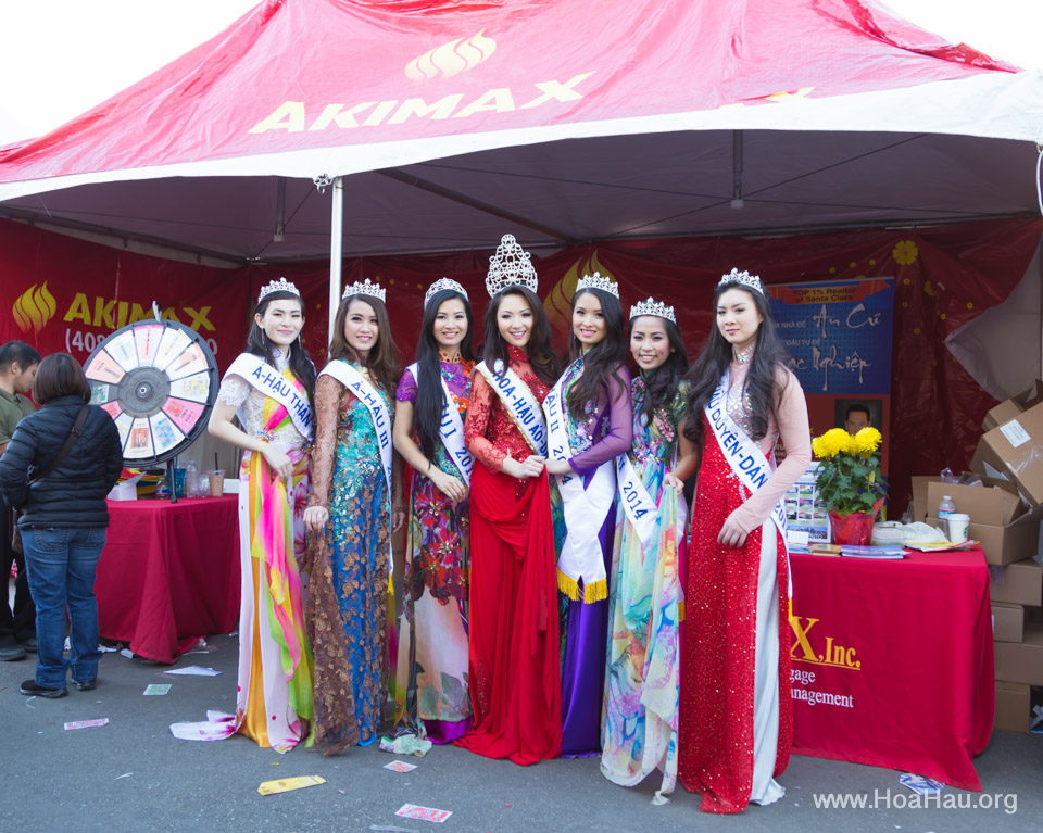 Tet Festival 2014 at Vietnam Town - Hoa Hau - Miss Vietnam - Image 189