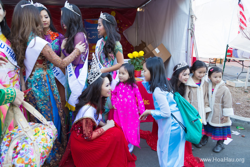 Tet Festival 2014 at Vietnam Town - Hoa Hau - Miss Vietnam - Image 190