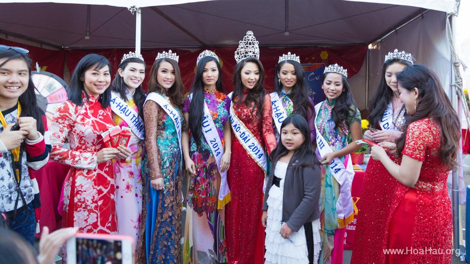 Tet Festival 2014 at Vietnam Town - Hoa Hau - Miss Vietnam - Image 191
