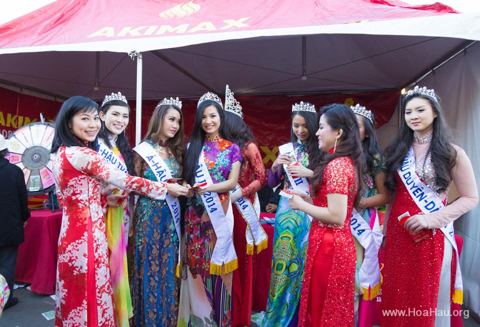 Tet Festival 2014 at Vietnam Town - Hoa Hau - Miss Vietnam - Image 192