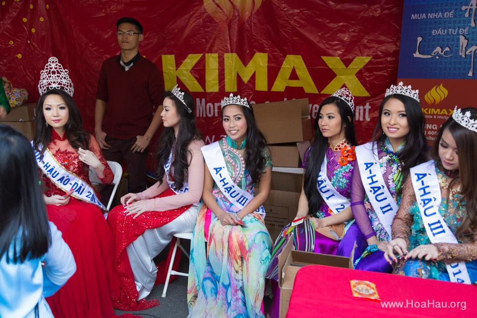 Tet Festival 2014 at Vietnam Town - Hoa Hau - Miss Vietnam - Image 197