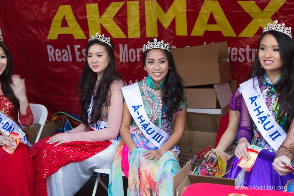 Tet Festival 2014 at Vietnam Town - Hoa Hau - Miss Vietnam - Image 198
