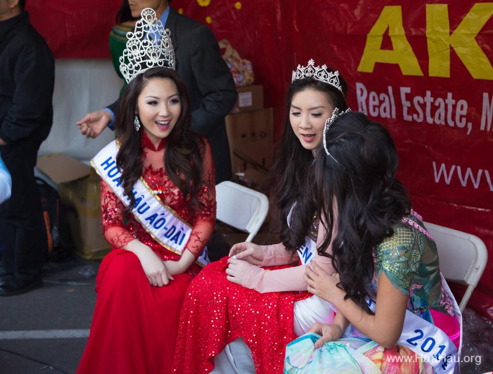 Tet Festival 2014 at Vietnam Town - Hoa Hau - Miss Vietnam - Image 201