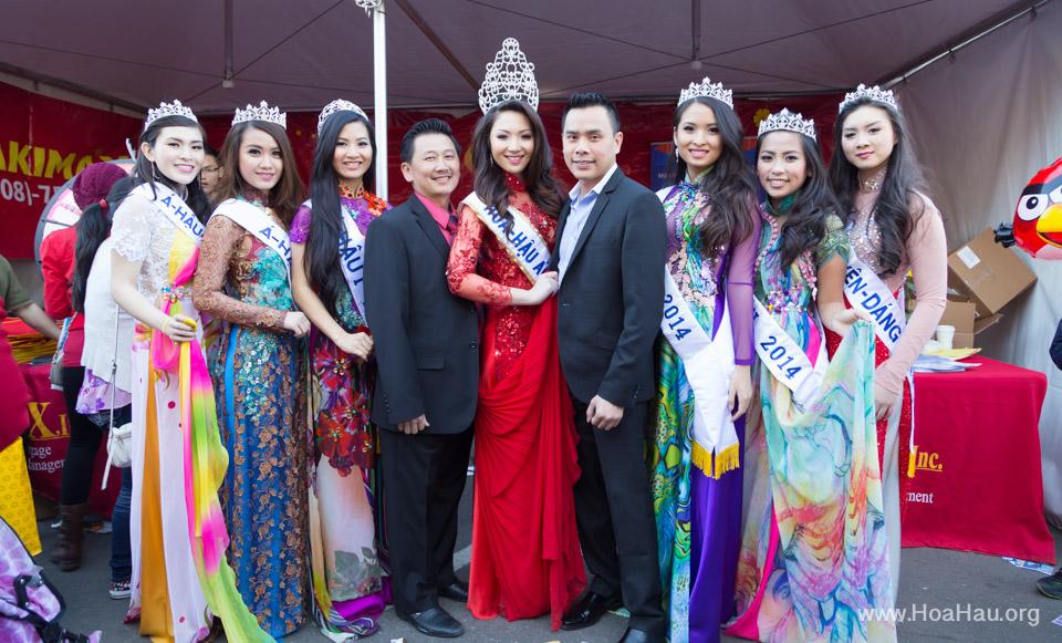 Tet Festival 2014 at Vietnam Town - Hoa Hau - Miss Vietnam - Image 202