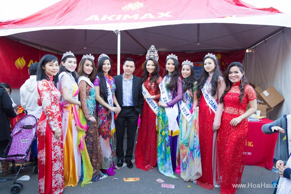 Tet Festival 2014 at Vietnam Town - Hoa Hau - Miss Vietnam - Image 203