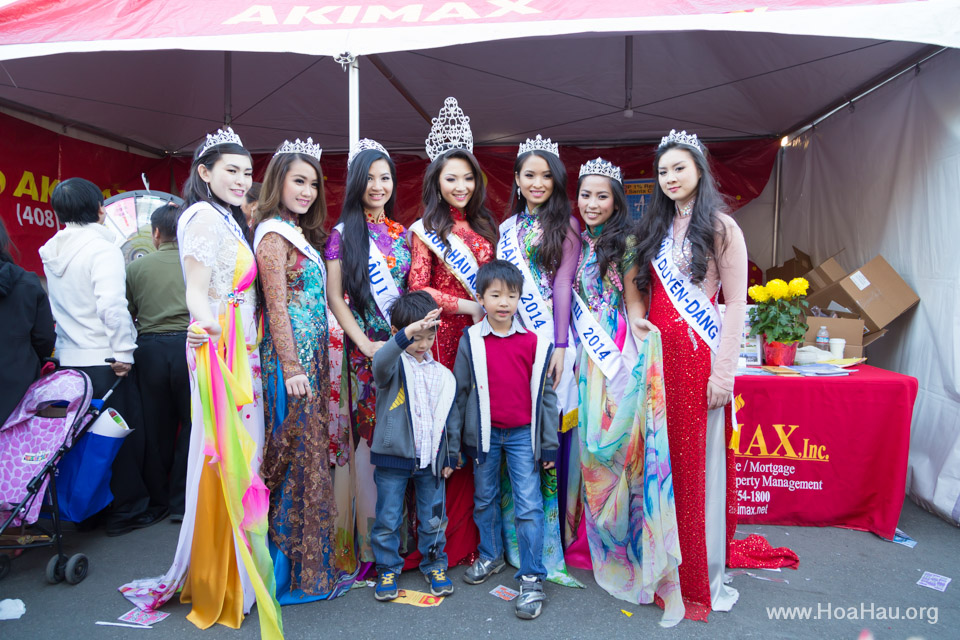 Tet Festival 2014 at Vietnam Town - Hoa Hau - Miss Vietnam - Image 204